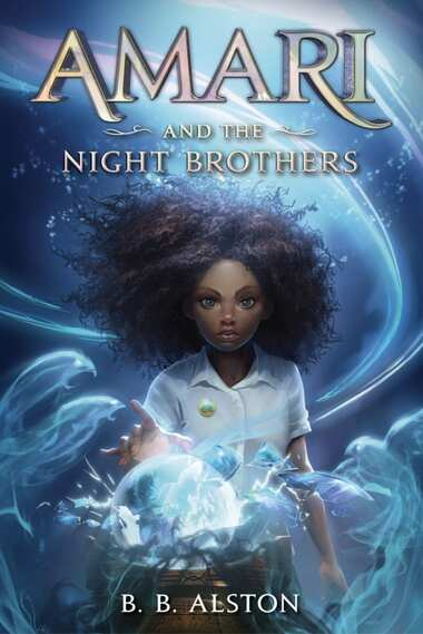 Book cover for Amari and the Night Brothers