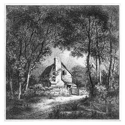 In Bury Street, Edmonton. Smith, John Thomas, 1766-1833, UK.