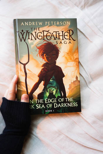 The Wingfeather Saga by Andrew Peterson On the Edge of the Dark Sea of Darkness Book 1 of 4
